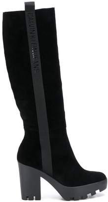 Calvin Klein Jeans knee boots
