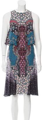 Mary Katrantzou Kaleidoscope Print Silk Dress w/ Tags