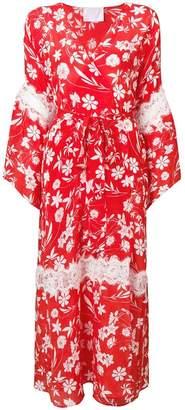 Athena Procopiou Farah floral kimono dress