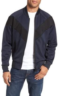 Rag & Bone Colorblock Slim Fit Bomber Jacket
