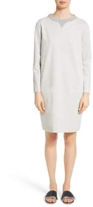 Fabiana Filippi Rodier Jersey Sweatshirt Dress