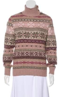 Loro Piana Cashmere Snowflake Sweater