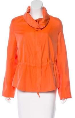Akris Punto Silk-Blend Jacket