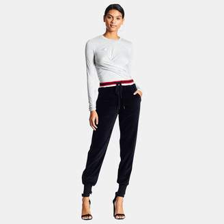 KENDALL + KYLIE Kendall & Kylie Velour Jogger