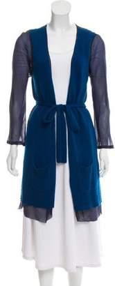Dries Van Noten Silk & Cashmere Knit Cardigan