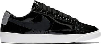 Nike Blazer Low Black Patent (W)
