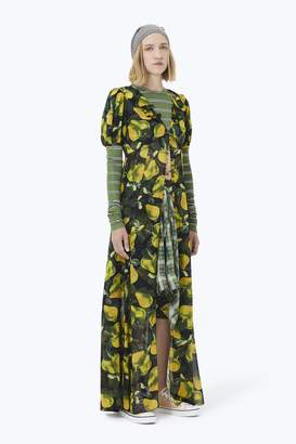 CONTEMPORARY Printed Button-Down Dress