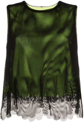 PASKAL clothes tulle overlay top