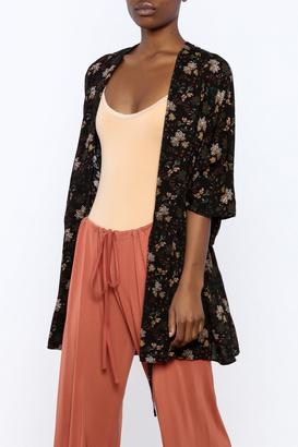 easel Floral Print Rayon Kimono $34 thestylecure.com