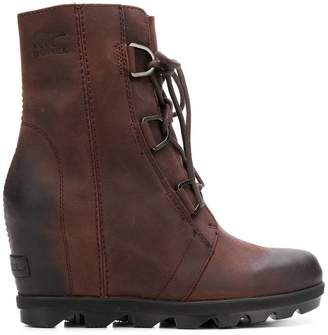 Sorel ankle lace-up boots