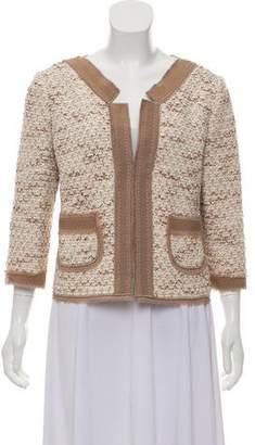 Couture St. John Wool-Blend Jacket