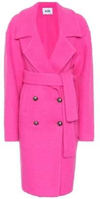 MSGM Wool-blend coat