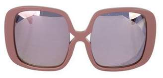 Karen Walker Marques Oversize Sunglasses