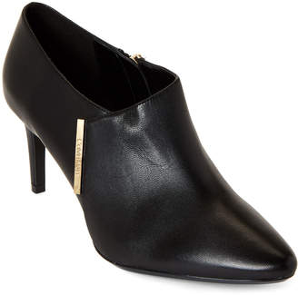 Calvin Klein Black Jeanna Pointed Toe Ankle Booties