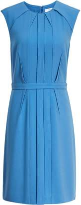 Reiss Nala - Tailored Dress in Antique Blue