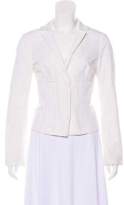 Narciso Rodriguez Notch-Lapel Button-Up Jacket