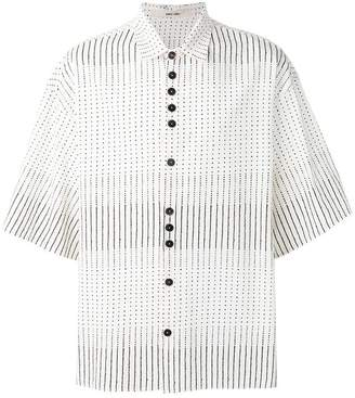 Damir Doma stripe dotted shirt