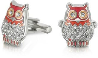 Forzieri Fashion Garden - Owl Cufflinks