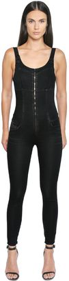 Joggjeans Cotton Denim Jumpsuit $348 thestylecure.com