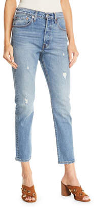 Levi's Premium 501 Leave A Trace Skinny Ankle Jeans