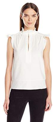 Rachel Zoe Apparel Women's Brooke Blouse,(Manufacturer Size: 8)