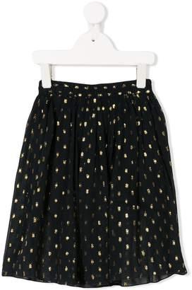 Stella McCartney Amalie fil coupé polka-dot skirt