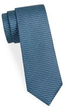 Saks Fifth Avenue Boxed Link Silk Tie