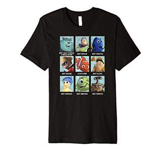 Disney Pixar Collection Character Yearbook Premium T-Shirt