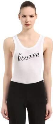 Ann Demeulemeester Re Edition Heaven Jersey Tank Top