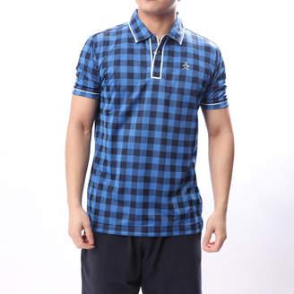 Munsingwear (マンシングウェア) - マンシングウエア Munsingwear メンズ ゴルフ 半袖 シャツ ニットMGMLGA04