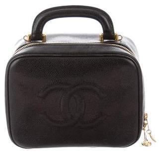 f6b59397d6096f Chanel Caviar Timeless Vanity Case w/ Strap