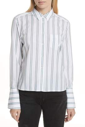 Equipment Huntley Stripe Cotton Shirt