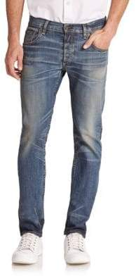 Rag & Bone Standard Issue Fit 2 Slim Low-Rise Jeans