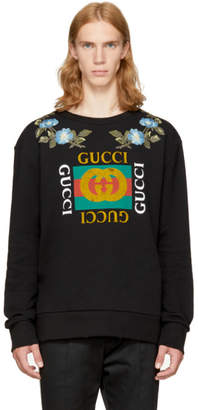 Gucci Black Loved Logo Sweatshirt