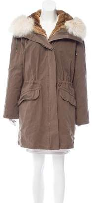 Army by Yves Salomon Fur-Lined Parka Coat