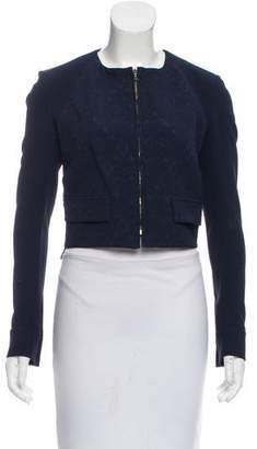 Roland Mouret Embroidered Zip-Up Jacket