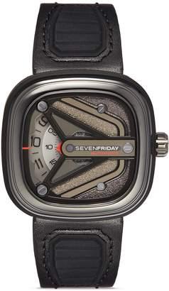 SEVENFRIDAY 'Engine' automatic B391 watch