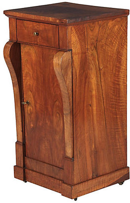 One Kings Lane Vintage Restoration Period Walnut Cabinet - 1820s - Negrel Antiques