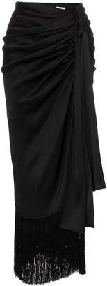 Magda Butrym Asti Wrap Silk Skirt