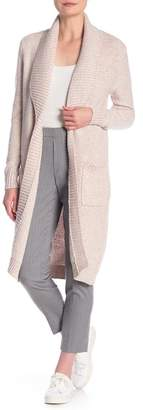 ABS by Allen Schwartz ESSENTIALS BY Long Cardigan Sweater