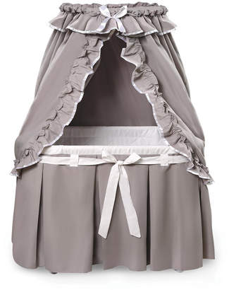 Badger Basket Majesty Baby Bassinet With Canopy