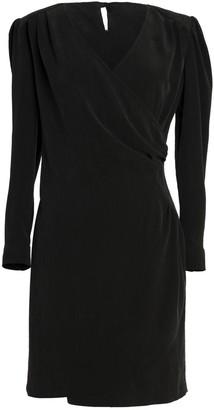 Tomcsanyi Mavti Charcoal Overlap Dress