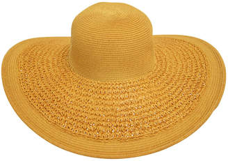 Bondi Beach Bag Co Crochet Weave Brim Floppy Hat