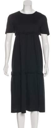 Edit Short Sleeve Midi Dress