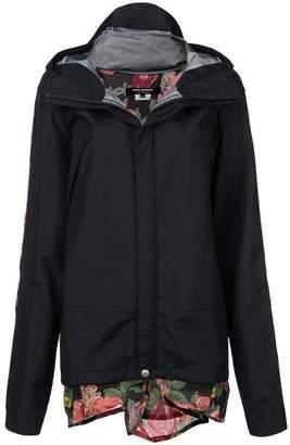 Junya Watanabe layered raincoat