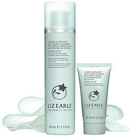 Nobrand NO BRAND Liz Earle Cleanse & Polish Home & Away Set with3 Cotton Cloths