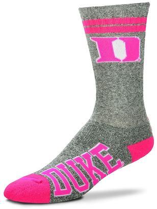 For Bare Feet Adult For Bare Feet Duke Blue Devils Crew Socks