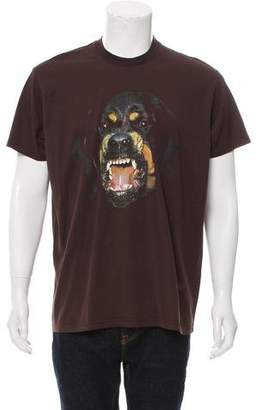 Givenchy Rottweiler Graphic T-Shirt