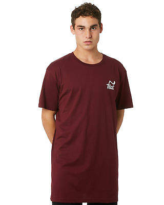New Feat Men's Tall Tee Short Sleeve Cotton Red