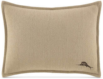 """Tommy Bahama Home Canvas Stripe 12"""" x 16"""" Decorative Pillow Bedding"""